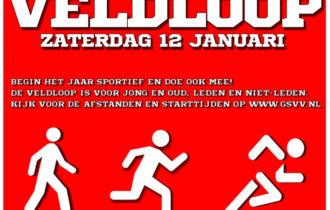 zaterdag 12 januari Veldloop