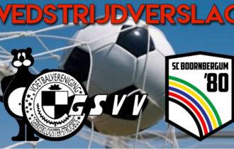 GSVV wint eerste wedstrijd op het vernieuwde hoofdveld