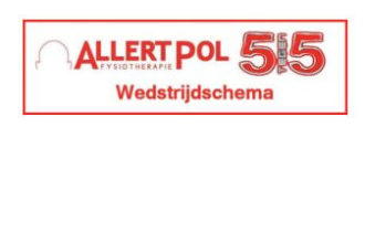 Uitslagen en wedstrijdschema Allert Pol 5*5 Toernooi