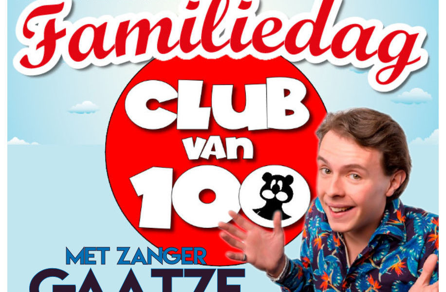 Famieliedag Club van 100 zaterdag 21 september