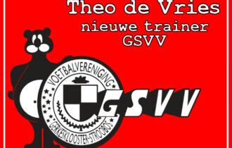 Theo de Vries nieuwe trainer GSVV